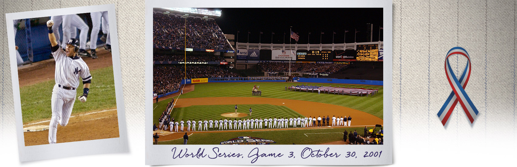 New York Yankees Unite USA Following 911