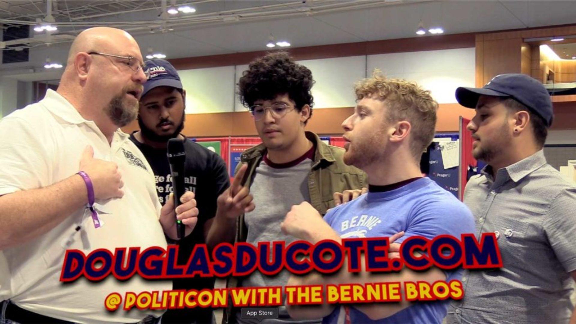 politicon-douglas-vs-bernie-bros