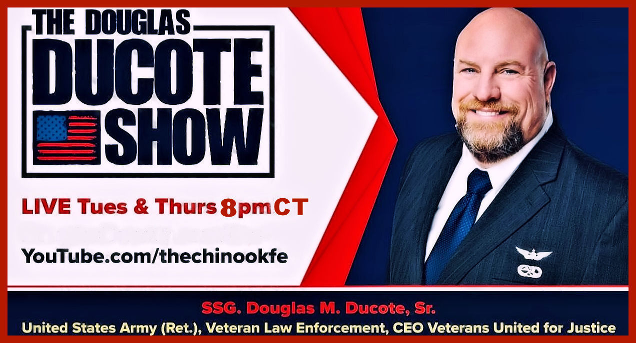 The Douglas Ducote Show! Join me live on Tuesdays and Thursdays at 8 pm central time!
