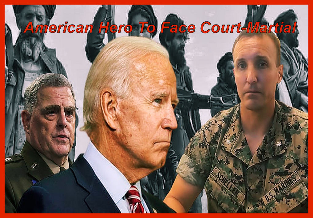 We are at a new low…American Patriot/Hero Lt. Col. Scheller to face a military Court-Martial