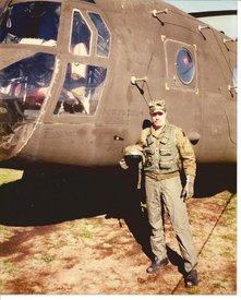 My first assigned aircraft as a Flight Engineer CH-47D 84-24179