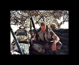 Operation Desert Shield/Storm 1990/91 (pulling perimeter guard duty)