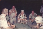 Operation Desert Shield/Storm 1990/91 (The night before returning to America, April 17th 1990)