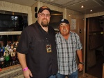 Me and Doc McGhee the manager for Gene Simmons of the rock band Kiss