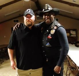 With my good friend RO Mack Mackey