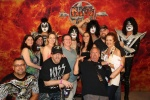 Back stage with KISS