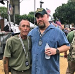 Me and Tim Foley founder of Az. Border Recon