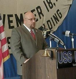 Keynote Speaker on Memorial Day at the USS KIDD in Baton Rouge, La. 2007