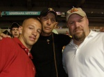 Hanging out at an LSU Football Game with Jay Paul and RJ of the TV reality show Swamp People