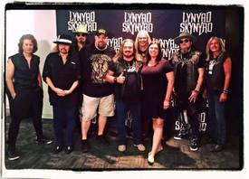 Back stage with Lynyrd Skynyrd